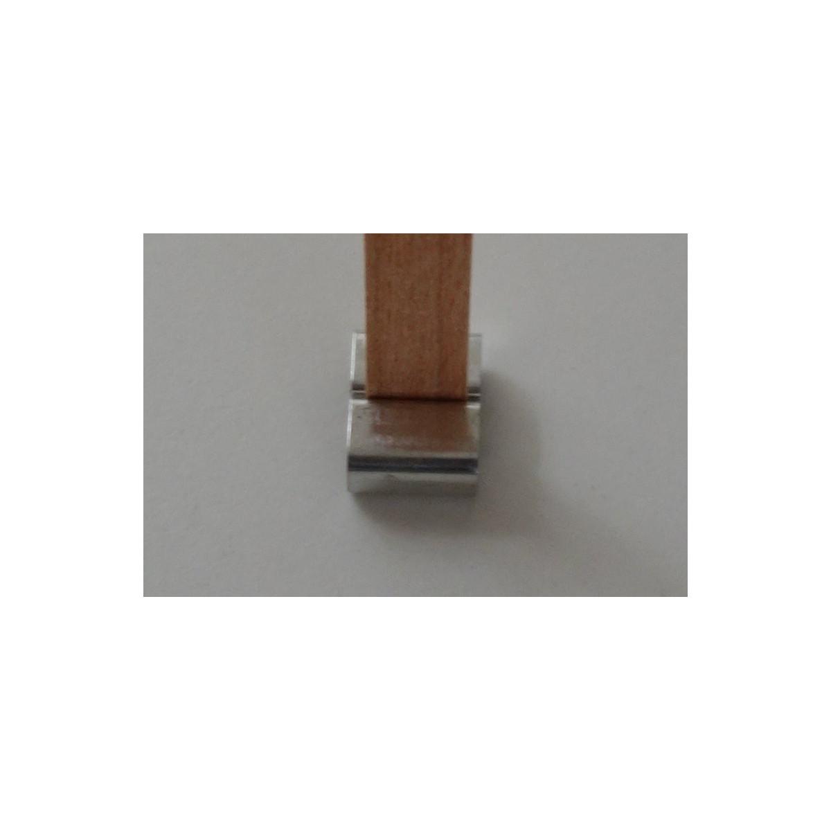 Socle pour mèche en bois