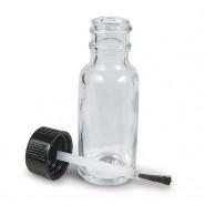 Flacon en verre avec pinceau 10ml