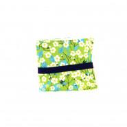 Pochettes 8 flacons - Fleurs vertes
