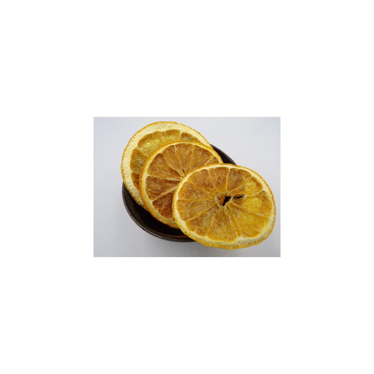 Oranges tranches séchées