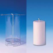 Moule à bougie cylindrique 97 mm