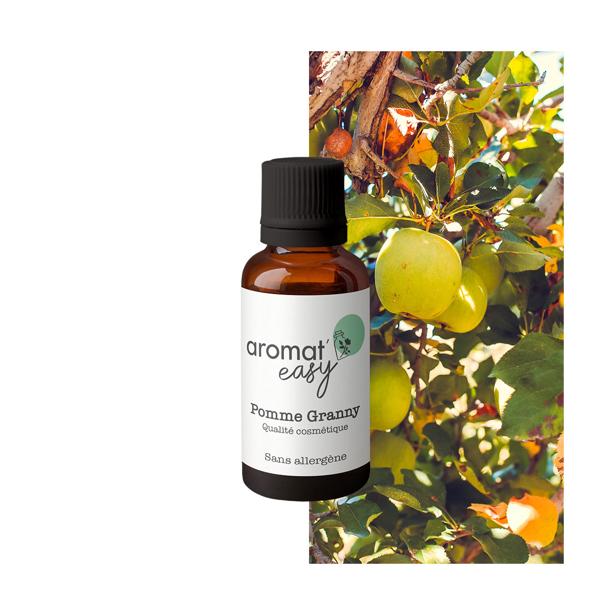 Fragrance Pomme Granny - Sans allergène